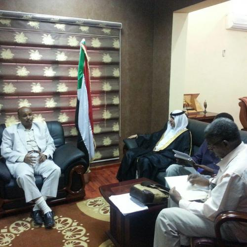 Arab Business Club President Hamdan Mohamed Almurshidi on opending trade deals with Sudan