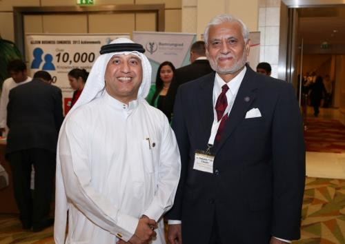 Arab Business Club President Hamdan Mohamed Almurshidi during 2nd Showcase your Business Event