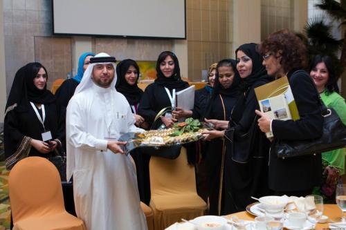 Arab Business Club President Hamdan Mohamed Almurshidi at Networking Event