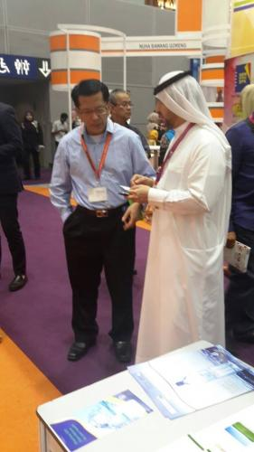 Arab Business Club President Hamdan Mohamed Almurshidi visit to Malaysia